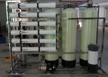 380V 50Hz 1.5TPH Brackish Water System / RO Water Purification Plant System