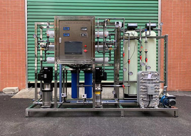 RO + EDI System Water Treatment Purification System / Water Treatment Equipment