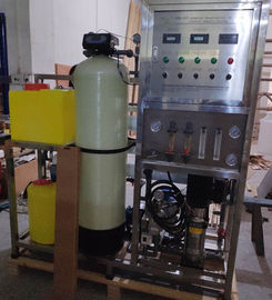 Reverse Osmosis Sea Water Purification System , Seawater Desalination Plant