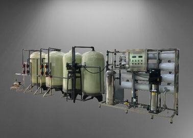 4TPH RO Machine With Standby Water Softener System For Remove Dissolved Solids From Water