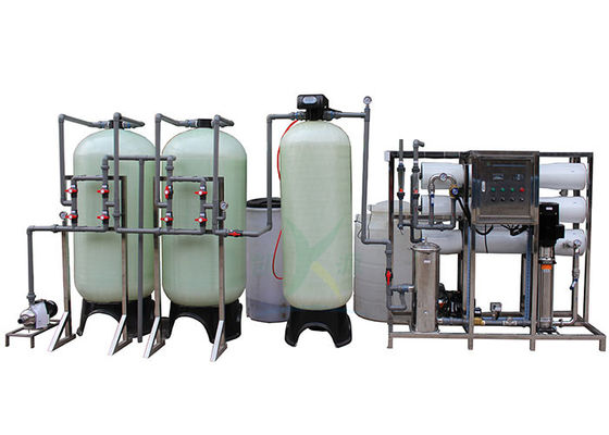 3000L/H Two Stage RO 50Hz 25L/Bag Water Softener System