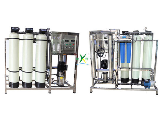 SS316  Softener 500L/H Underground Well Water Treatment Plant